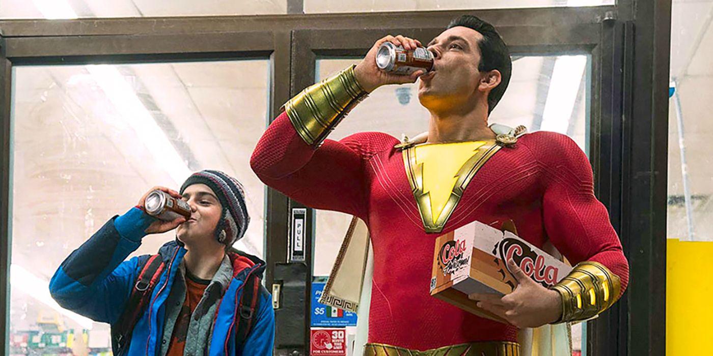 Shazam فیلم ابرقهرمانی DC