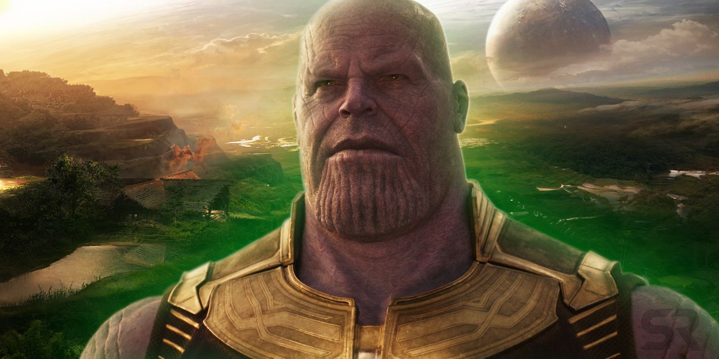 Infinity War Concept Art proves Fan Theory
