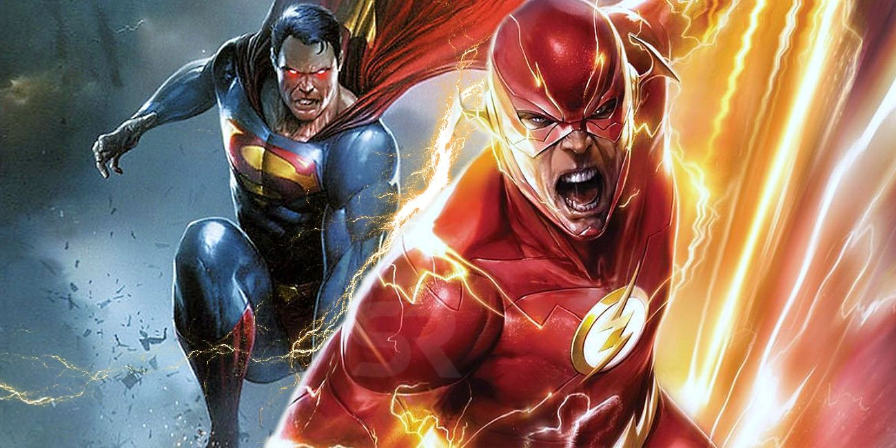 sorry superman fans dc confirms flash was always faster