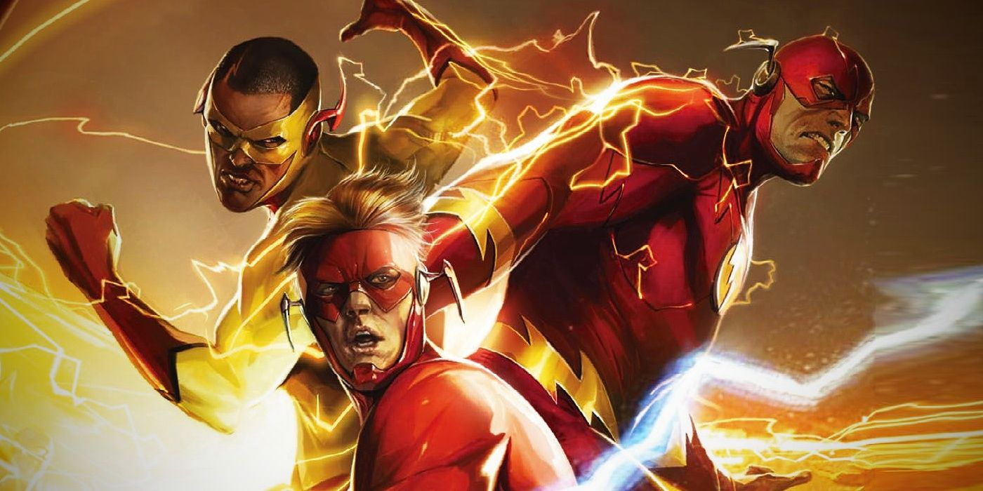 dc s flash writer talks the future of barry wally more