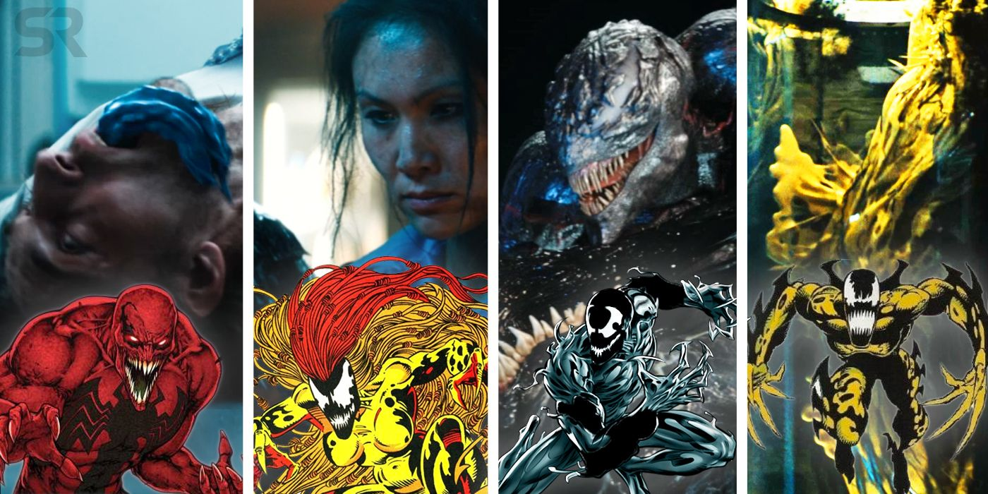 Venom Movie Villains: All The Symbiotes Confirmed So Far