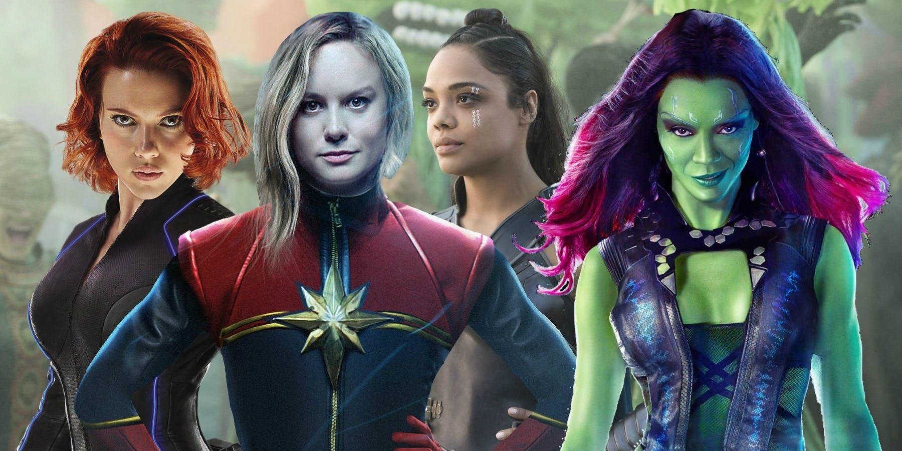 Personajes De Marvel: 10 Strongest Female Marvel Characters