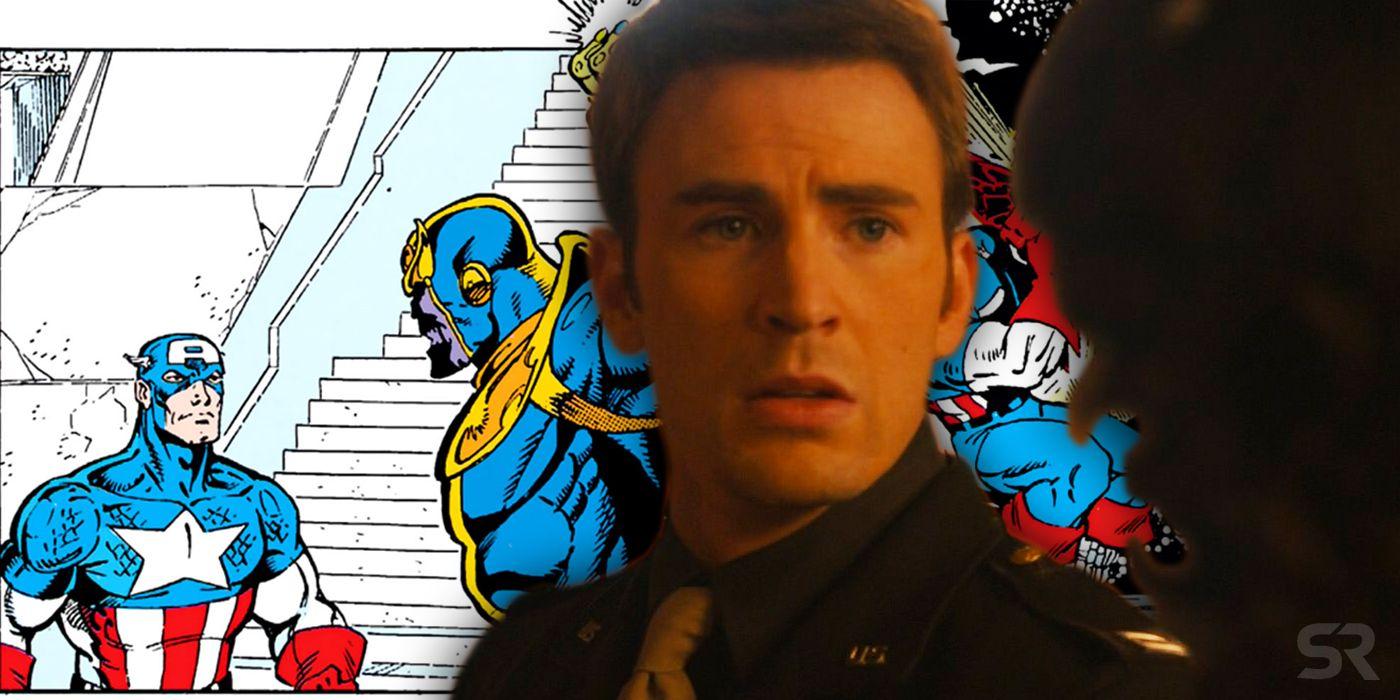 Captain America And Peggy Meet Again
