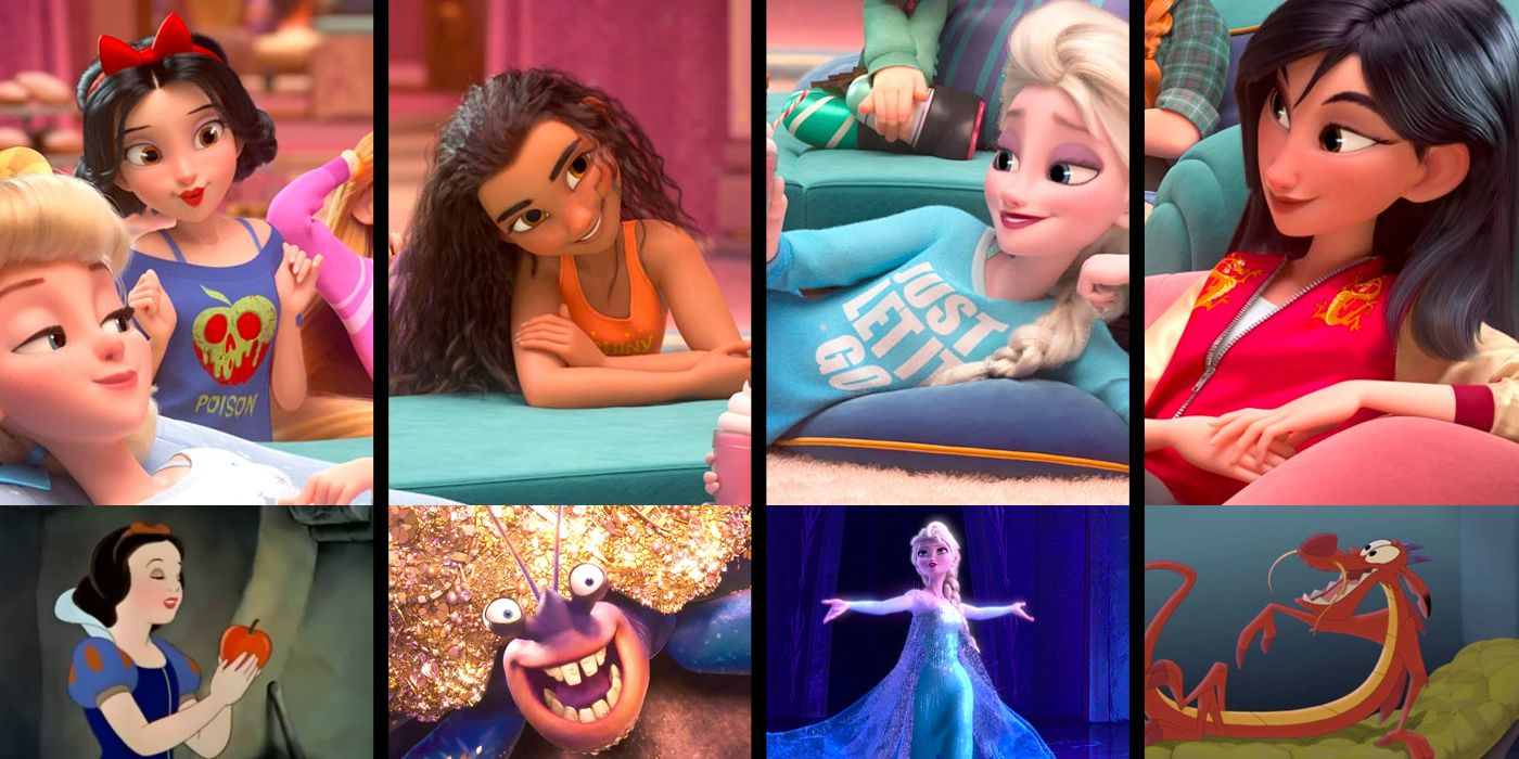 TV and Movie News Wreck-It Ralph 2's New-Look Princesses ...
