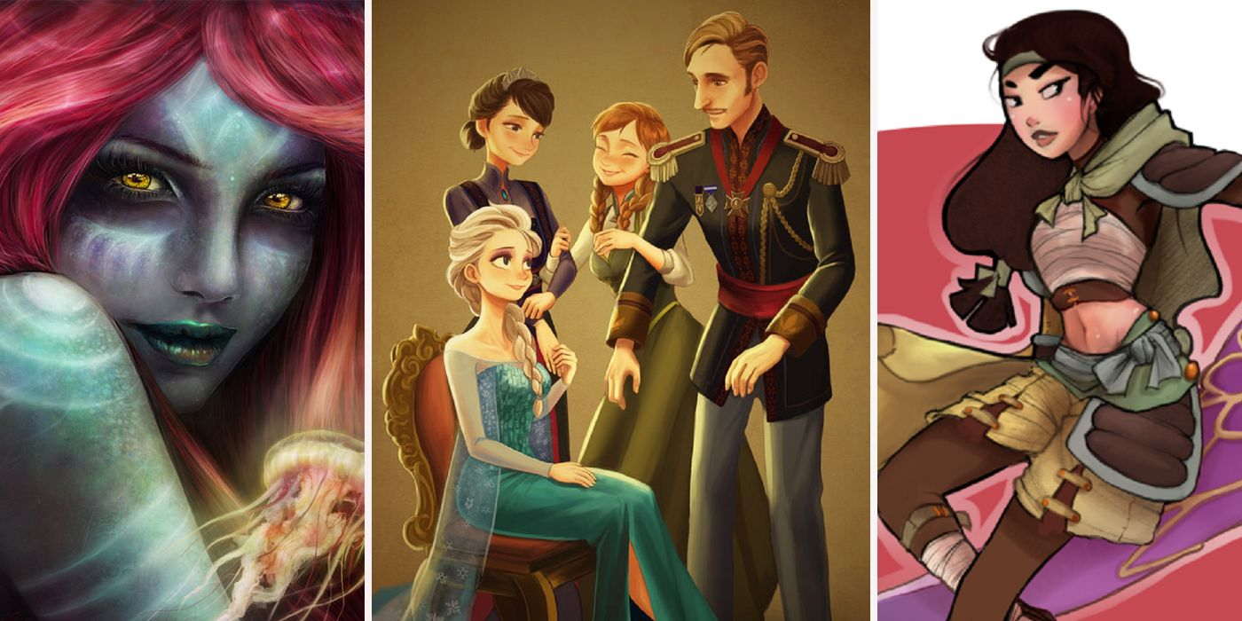 25 Disney Fan Redesigns Way Better Than The Movies