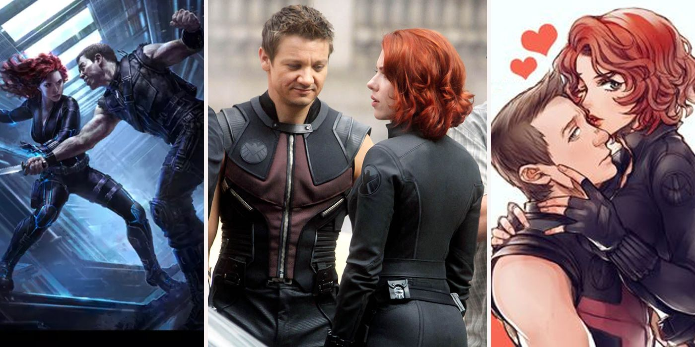 20 Things Only True Fans Know About Black Widow And Hawkeye's