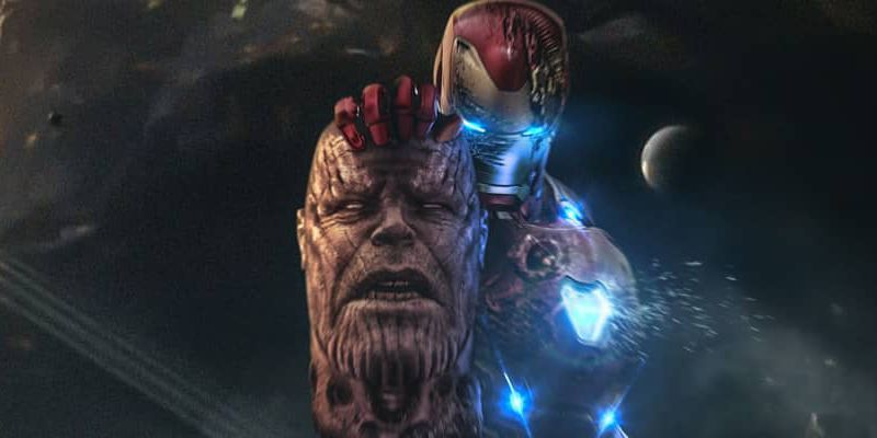 X Out Reviews >> Avengers 4: Iron Man Decapitates Thanos in Startling Fan Art