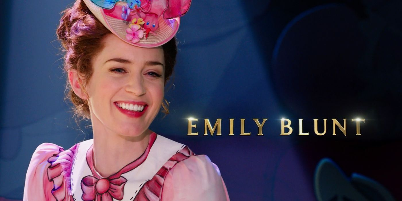 Photos of Emily Blunt as Mary Poppins for Disney sequel recommend