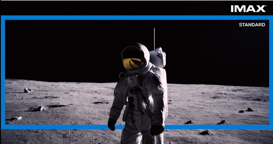 First Man's Moon Sequences Are Meant To Be Seen In IMAX