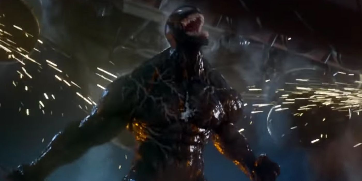 Venom Couldn T Include The Spider Symbol Because Of Origin Change