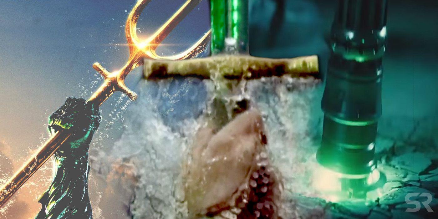 Aquamans Poster Shares A Major Batman V Superman Influence Aquaman