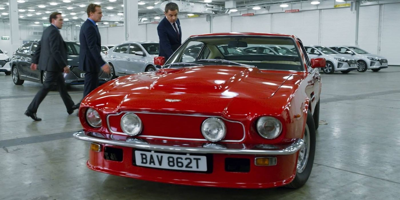 Exclusive Johnny English Strikes Again Clip Shows Aston Martin V8