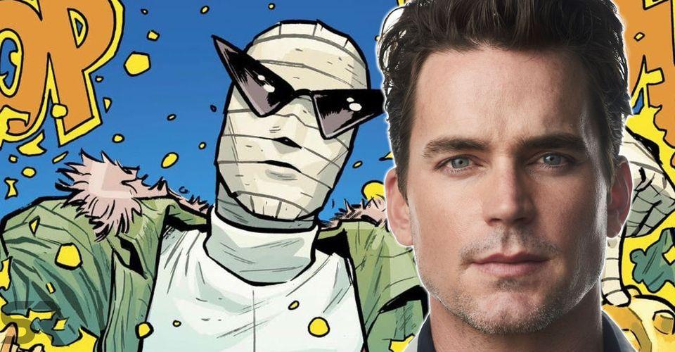 Dc S Doom Patrol Tv Show Casts Matt Bomer As Negative Man