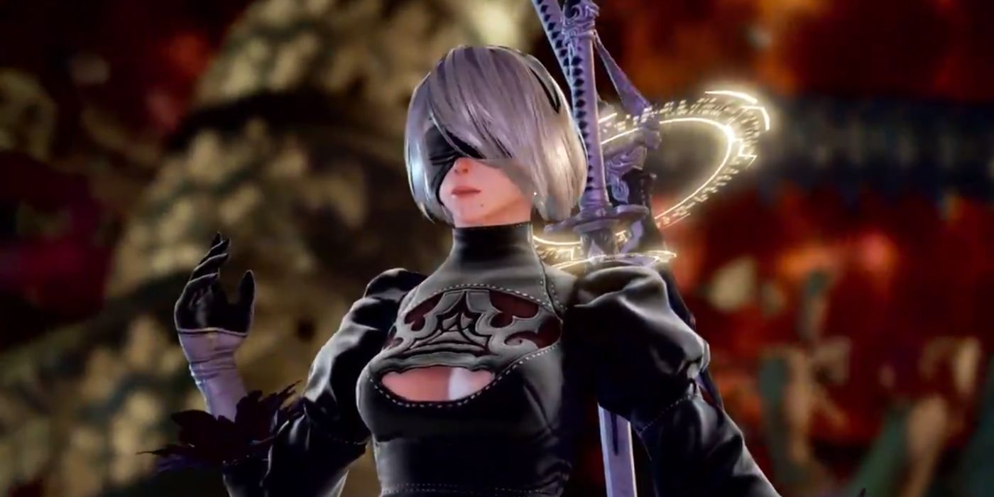 Premise Indicator Words: SoulCalibur VI Adding NieR: Automata's 2B As A Guest Character