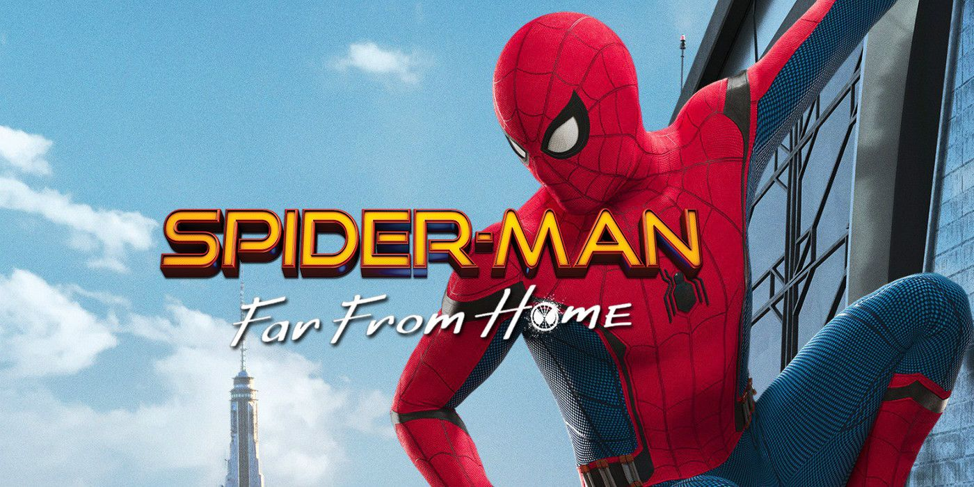 Image result for spider man far from home poster hd
