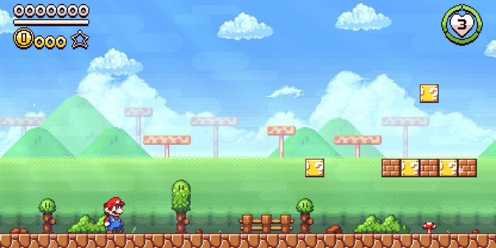 Super Mario Flashback Pixel Art Game Reimagines The Nintendo Classic
