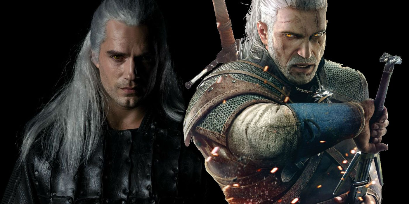 The Witcher First Look At Henry Cavill As Geralt Screen Rant