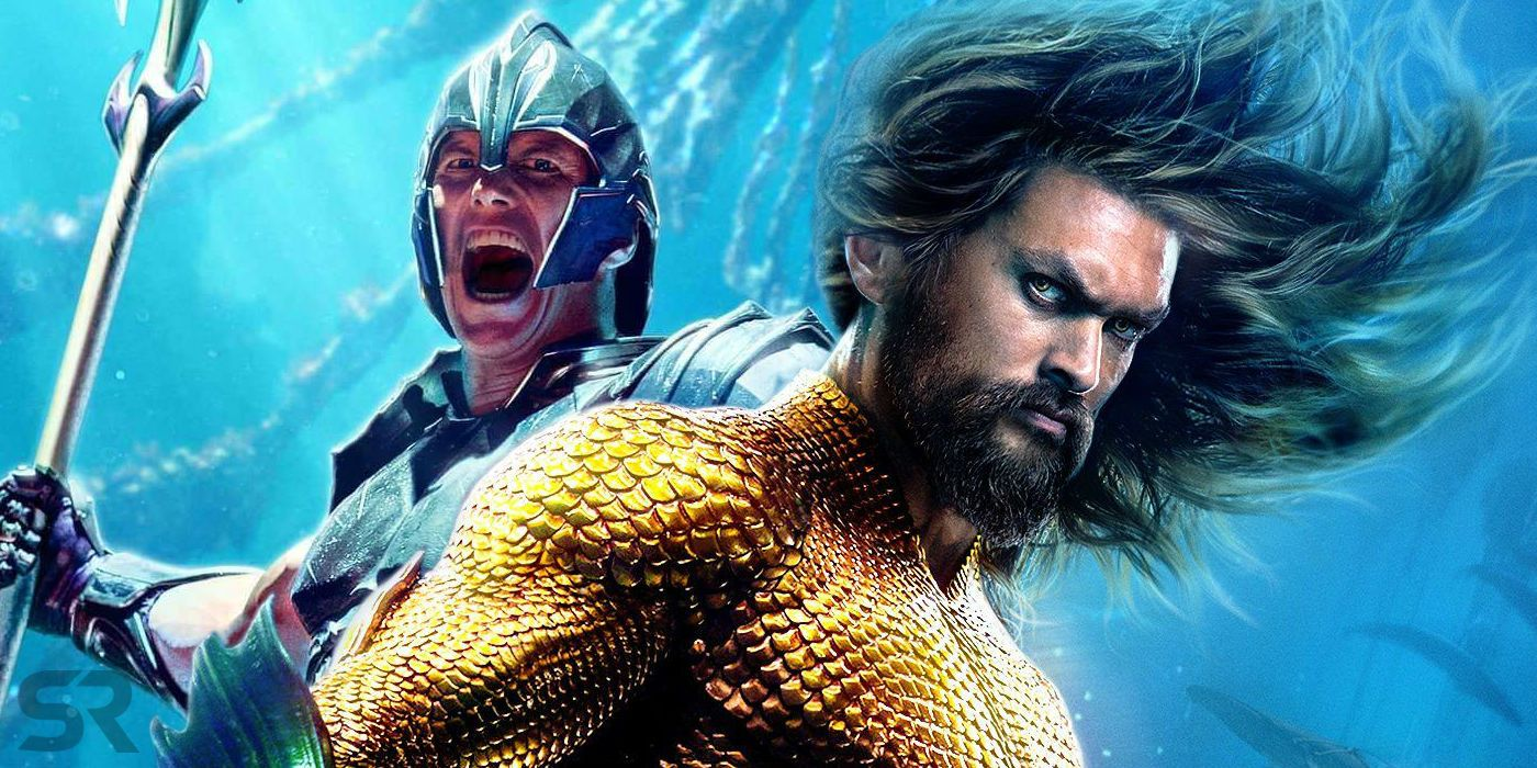 Aquaman Battles Orm In New Movie Images Screenrant