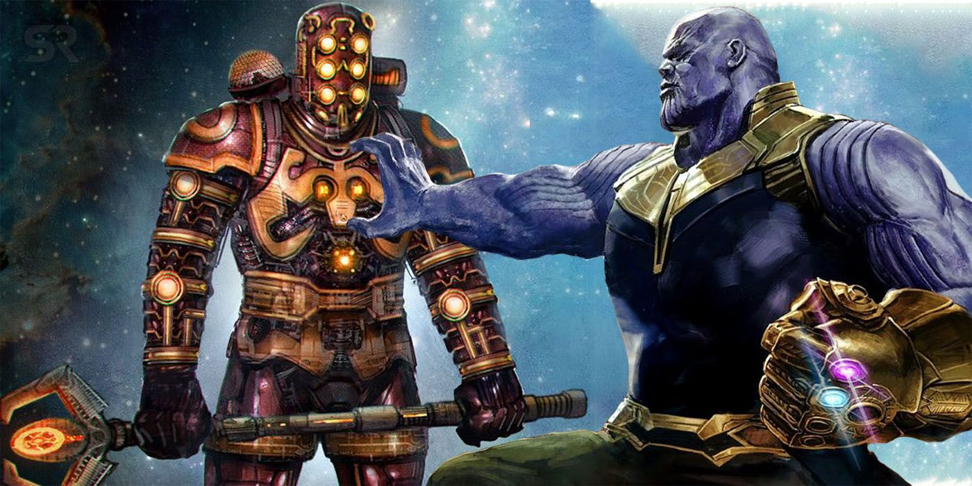 Thanos Origin Book May Tease Avengers 4's New Villains