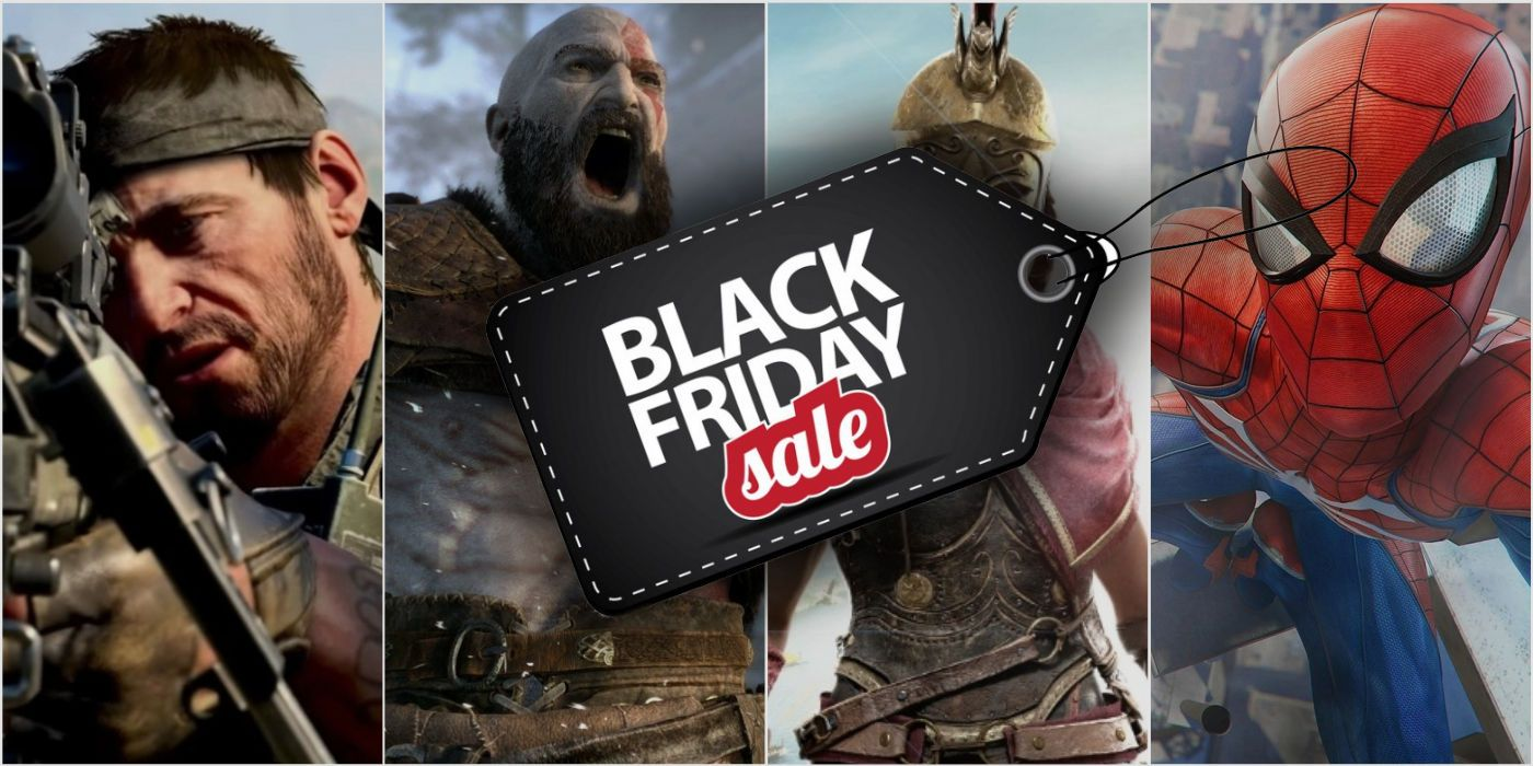 Black Friday Video Game Deals 2018 Guide - Retailers & Sales