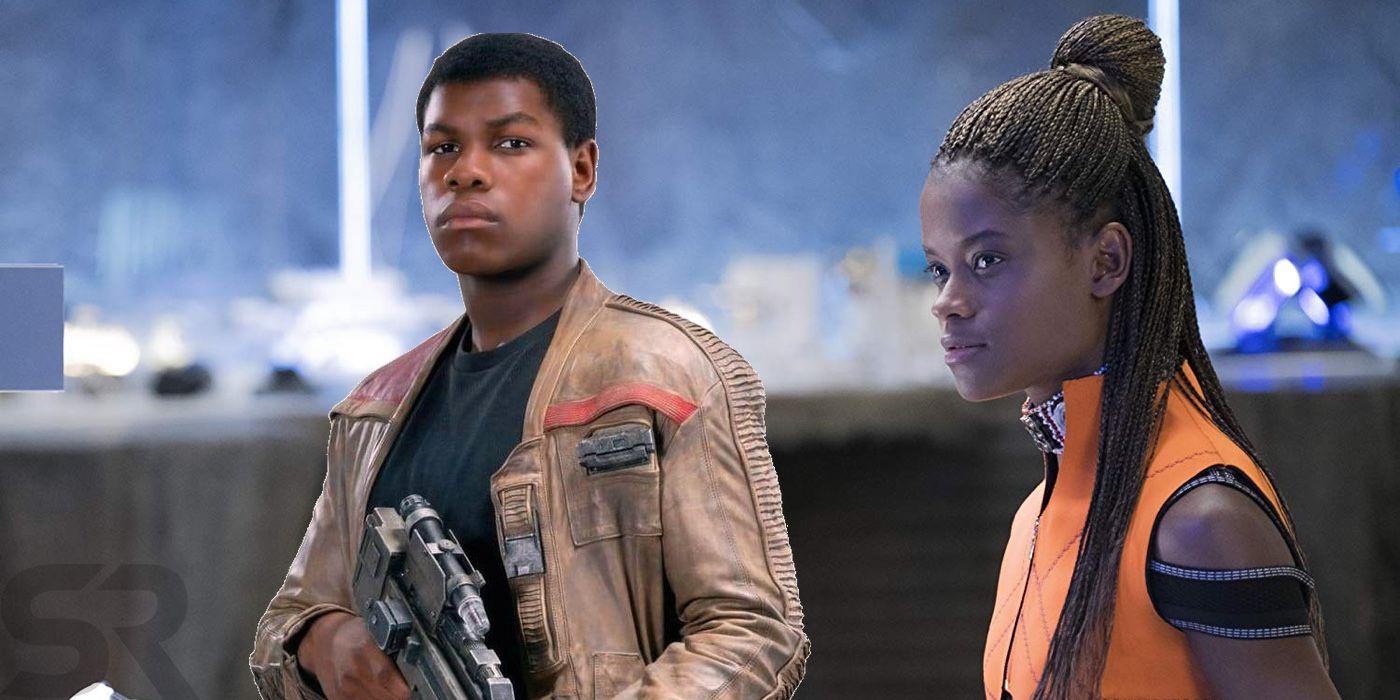 John Boyega & Letitia Wright Cast In Sci-Fi Film Hold Back the Stars