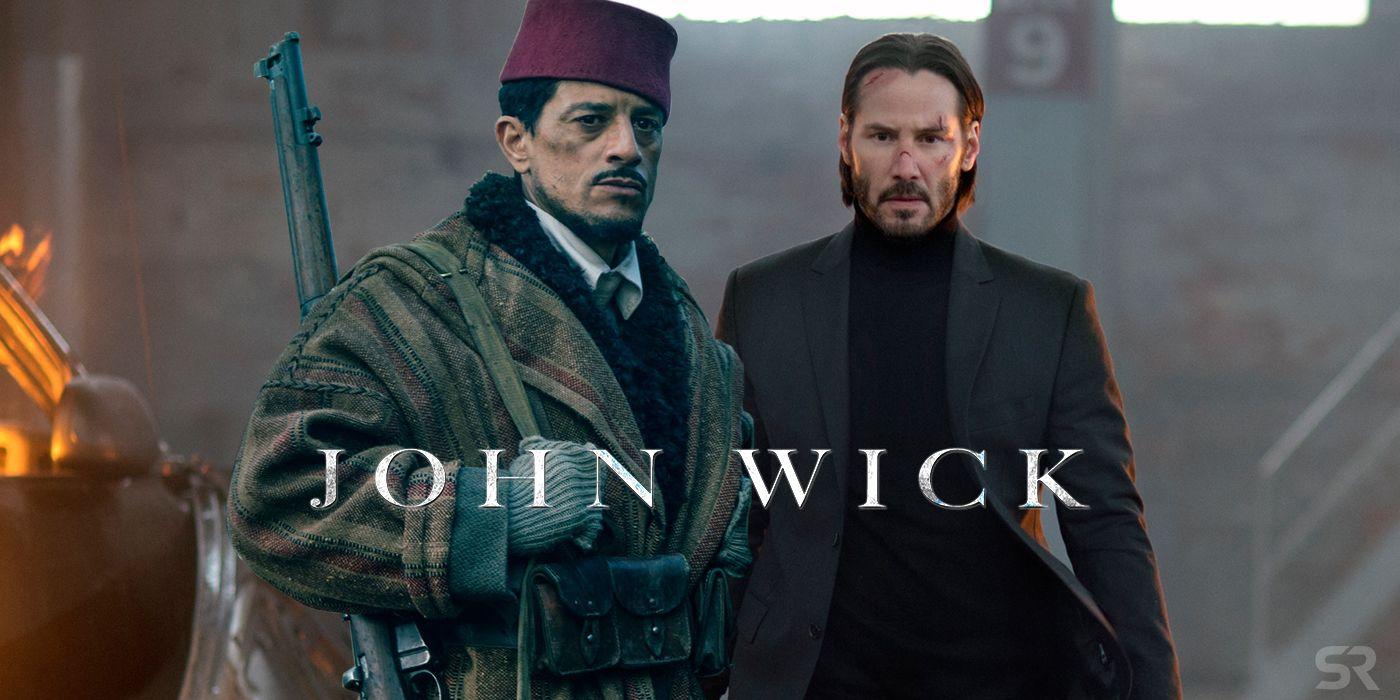 John Wick 3 Casts Wonder Womans Said Taghmaoui Screenrant