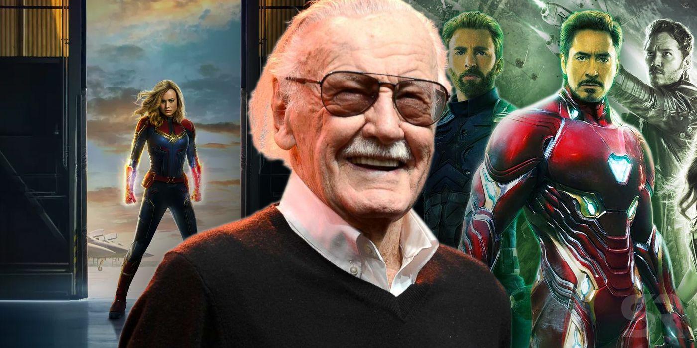 Stan Lee Captain Marvel