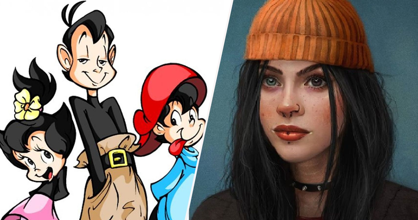 25 90s Cartoon Characters Redesigned As Real People Screenrant