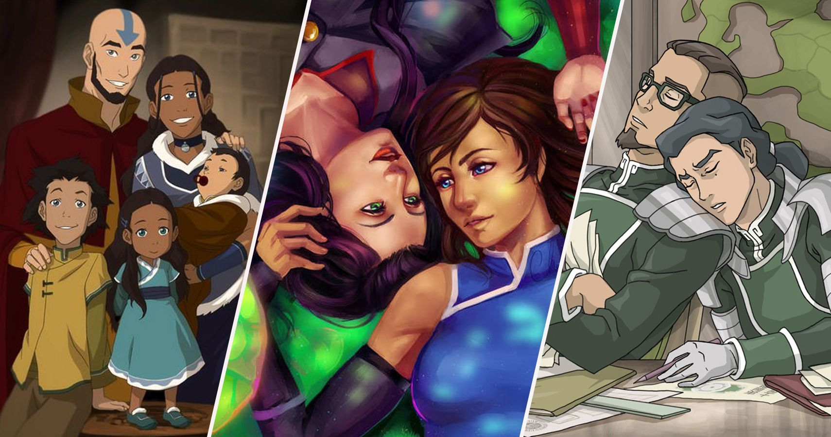10 Couples That Hurt Avatar: The Last Airbender And Legend Of Korra