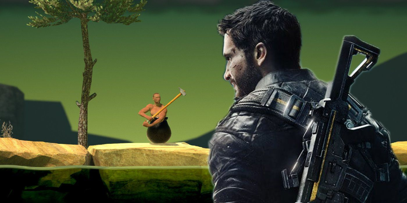 Just Cause 4 and Getting Over It Easter Egg