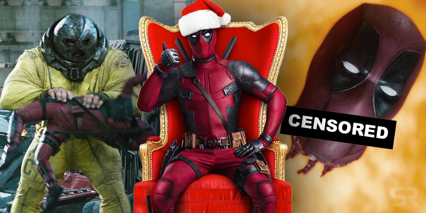 Once Upon A Deadpool Every Change In The Pg 13 Version