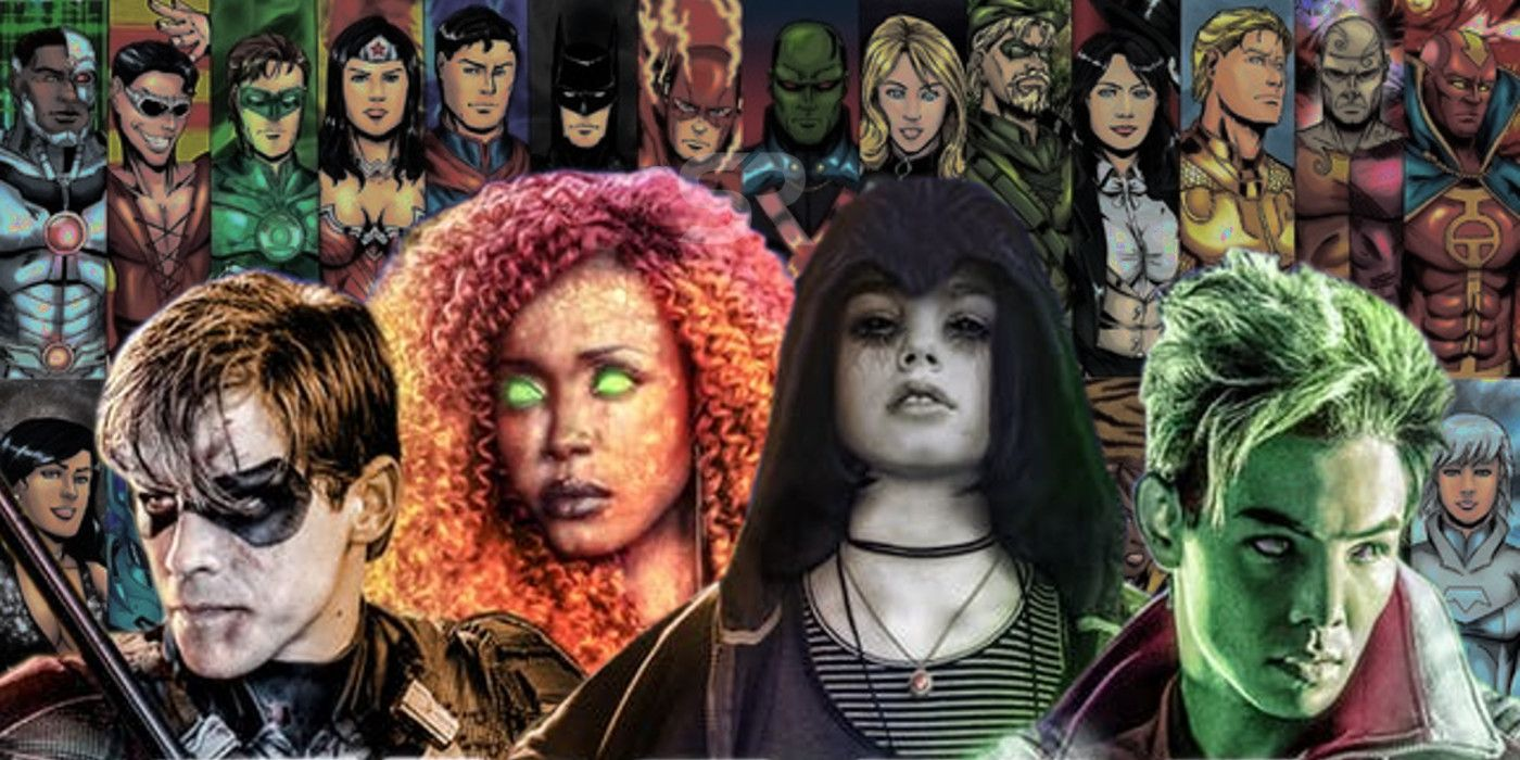 Image result for Titans dc