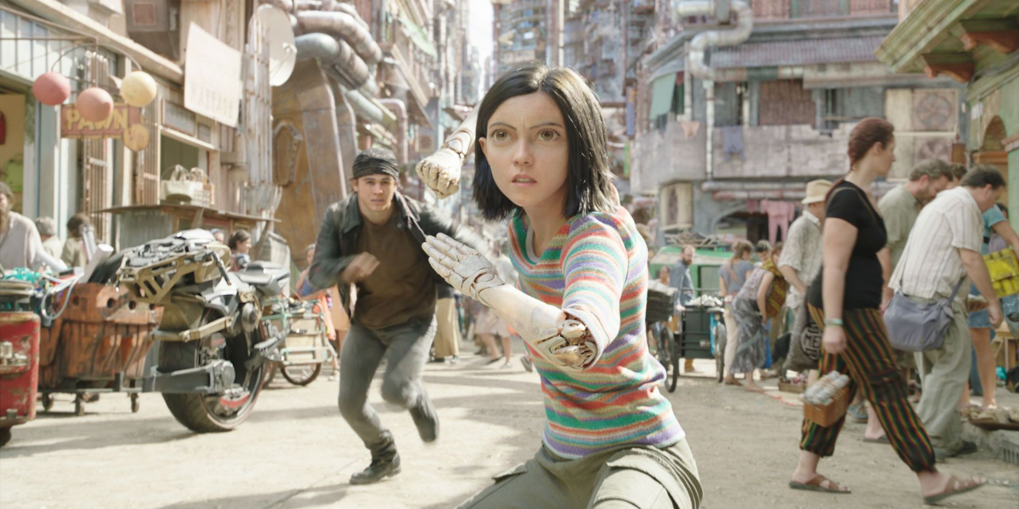 Alita: Battle Angel Super Bowl TV Spot Promises Mind-Blowing Action
