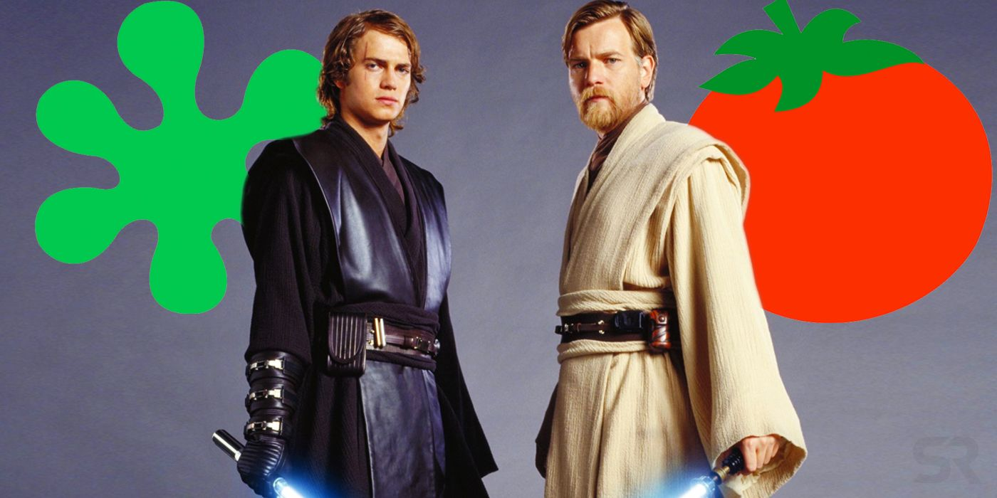 Star Wars Prequel Rotten Tomatoes Scores Have Changed (A Lot) Over Time