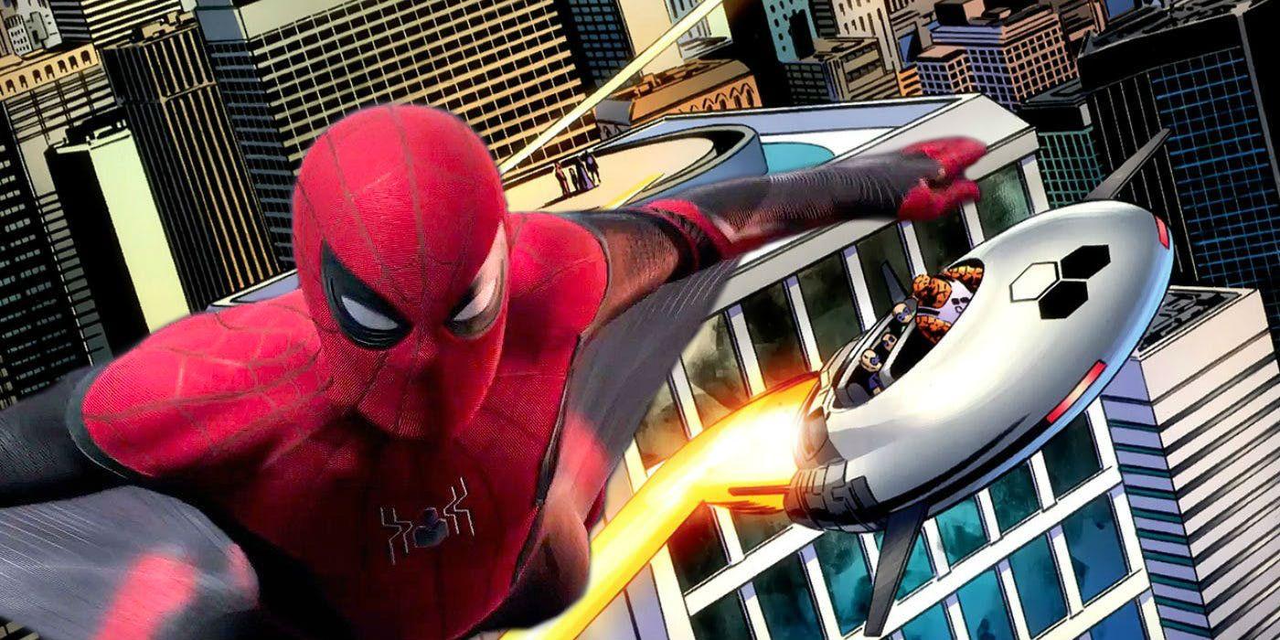 Resultado de imagem para spider man far from home fantastic four