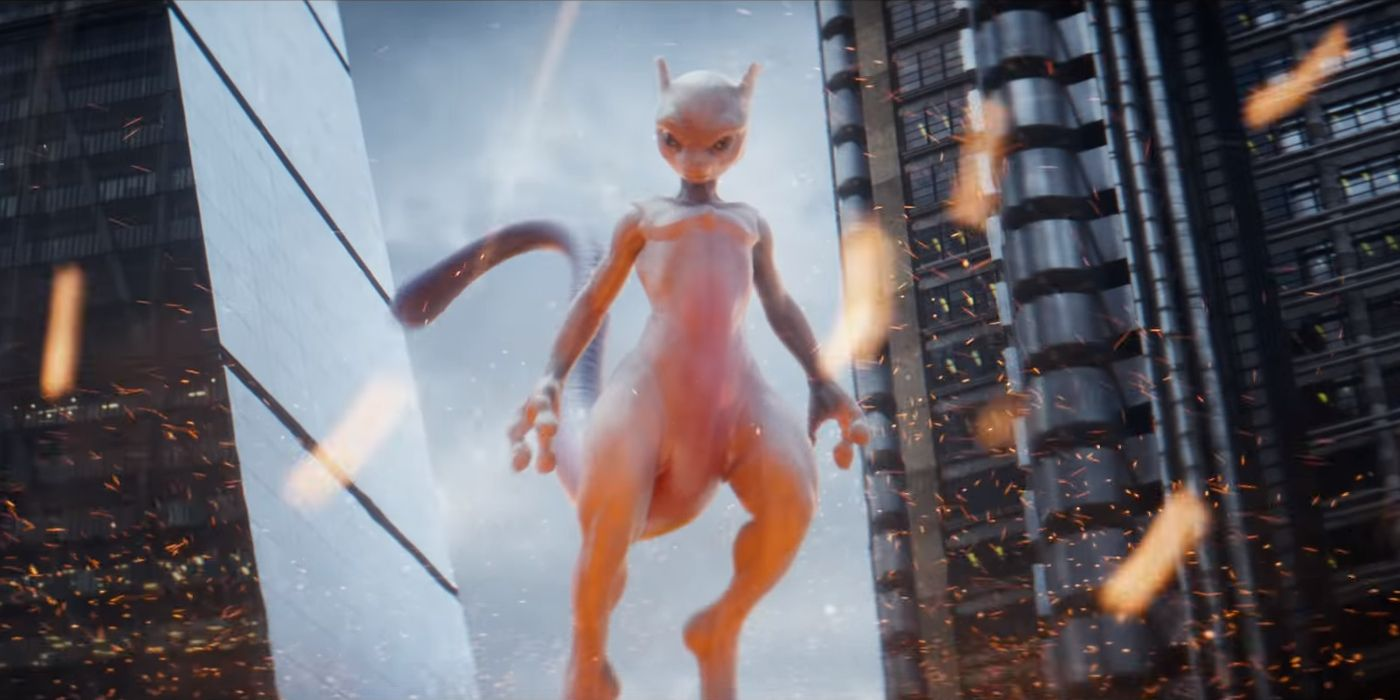 Image result for mewtwo detective pikachu