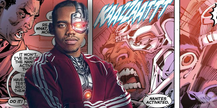 doom patrol cyborg comic