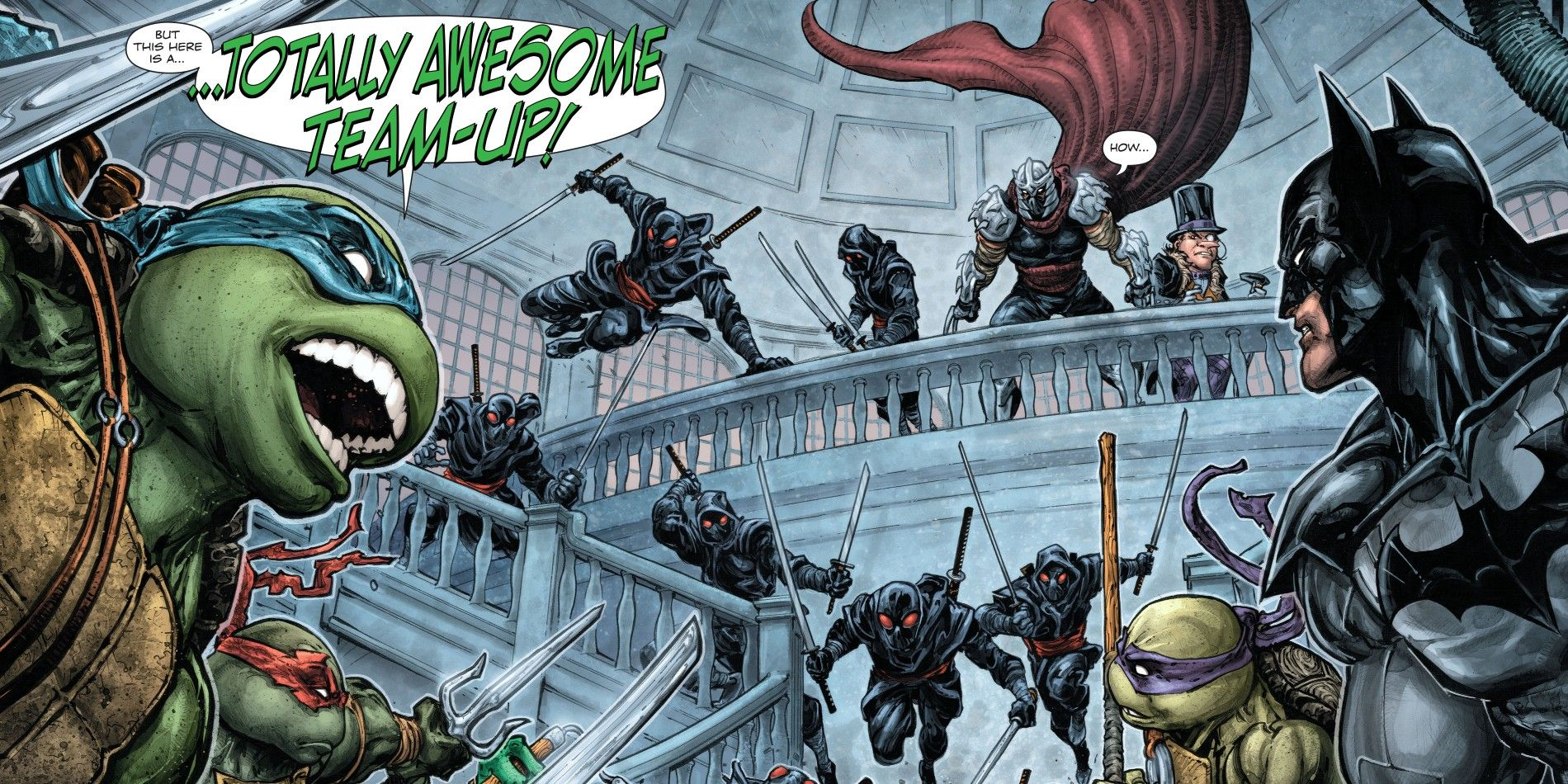 Batman Vs Teenage Mutant Ninja Turtles Gets A Release Date