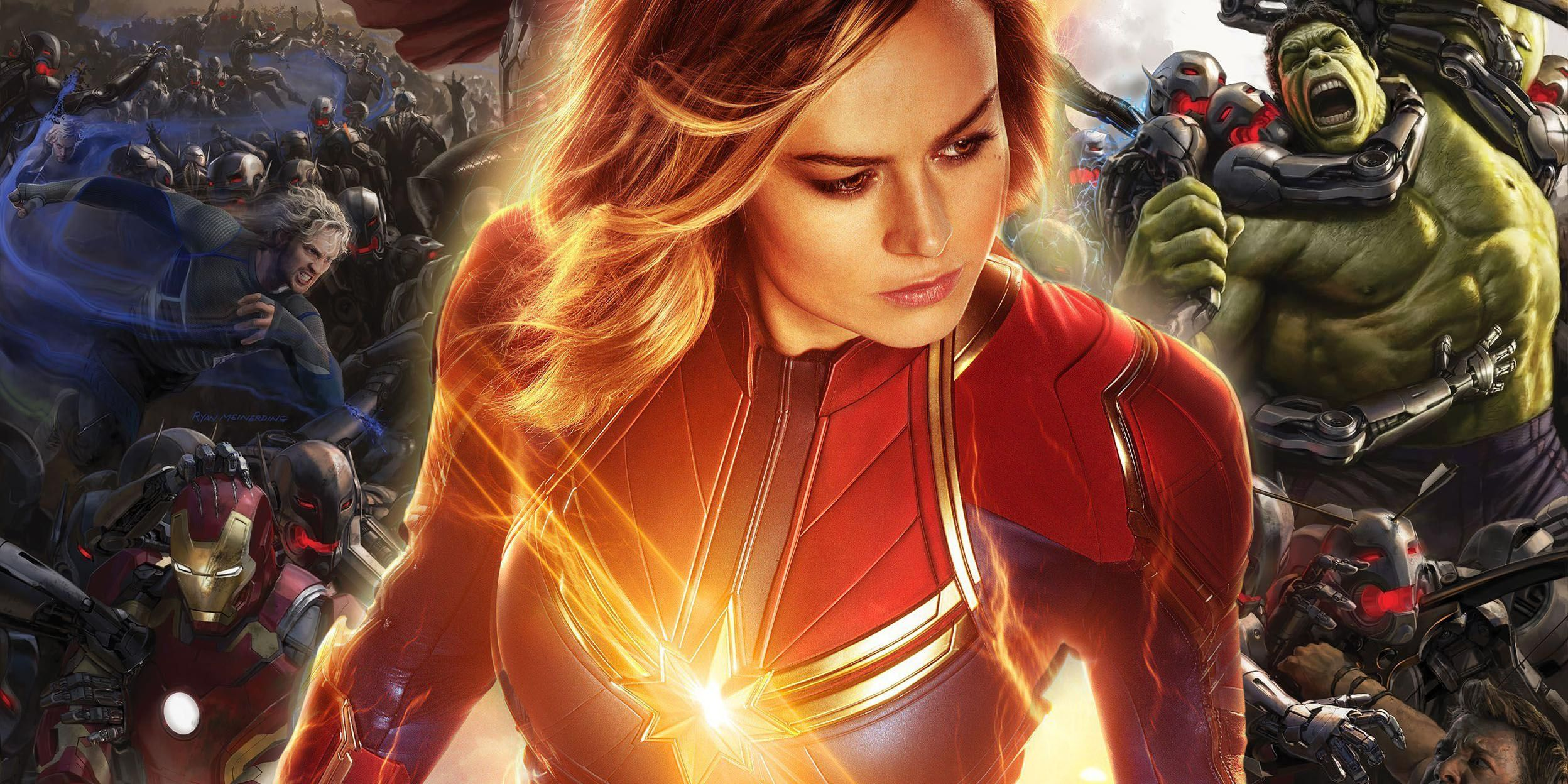 Captain Marvel's Original Role in Avengers: Age of Ultron
