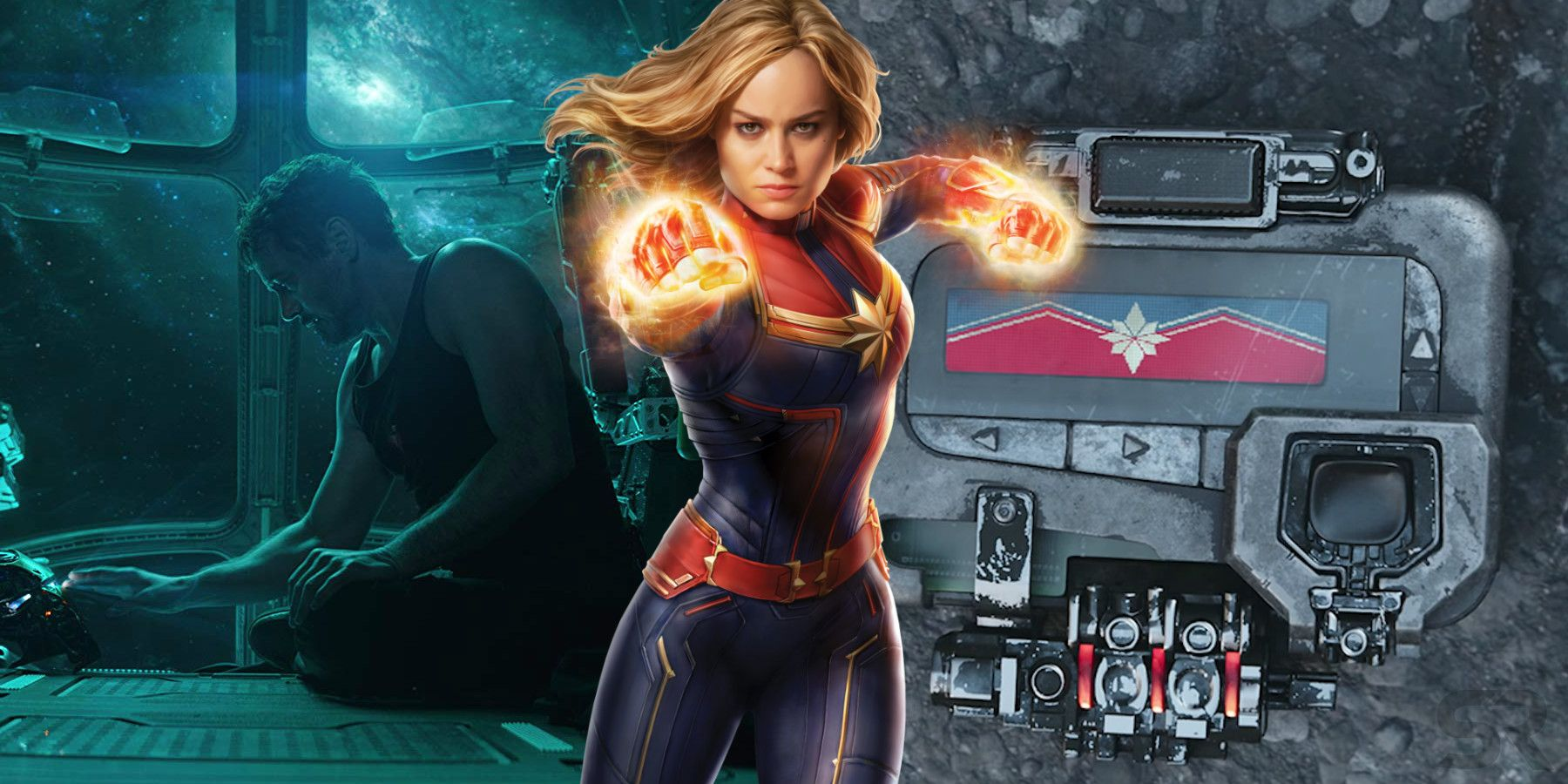 how captain marvel connects directly to avengers: endgame