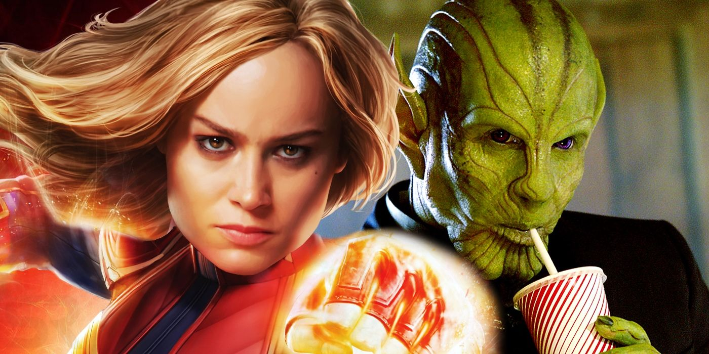 Captain Marvel Video Brie Larson Skrulls Dance To Push It