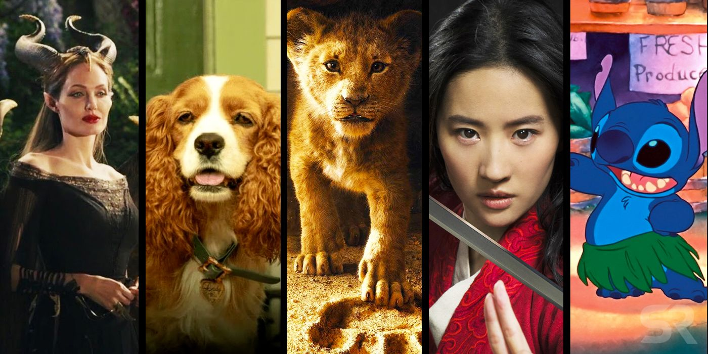 Upcoming Disney Live-Action Movies: All 16 Remakes In Development