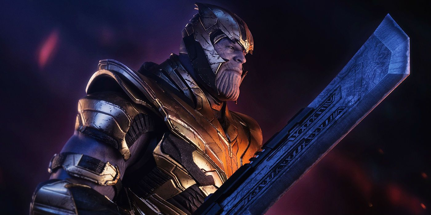 Detailed Look At Thanos New Endgame Weapon Armor