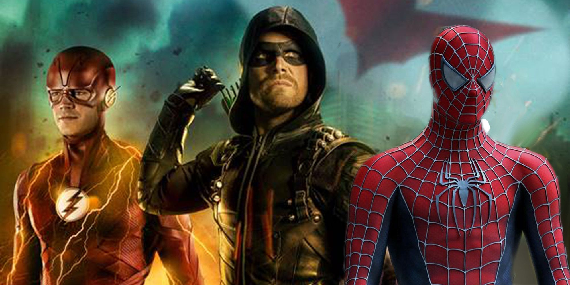 Arrow & Flash Both Just Referenced Spider-Man