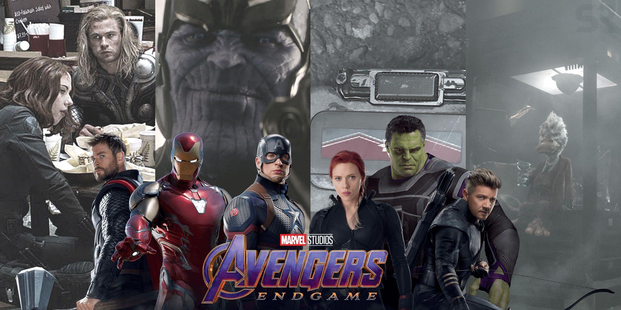 Avengers Endgame Credit Scene