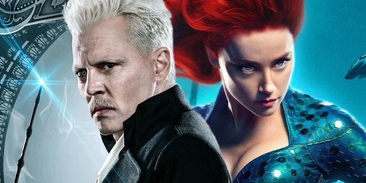 Johnny Depp Amber Heard Grindelwald Aquaman