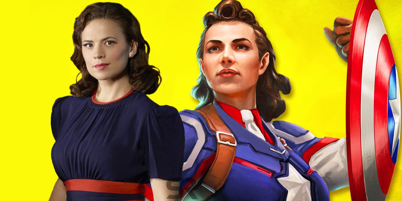 Captain America And Peggy Theme