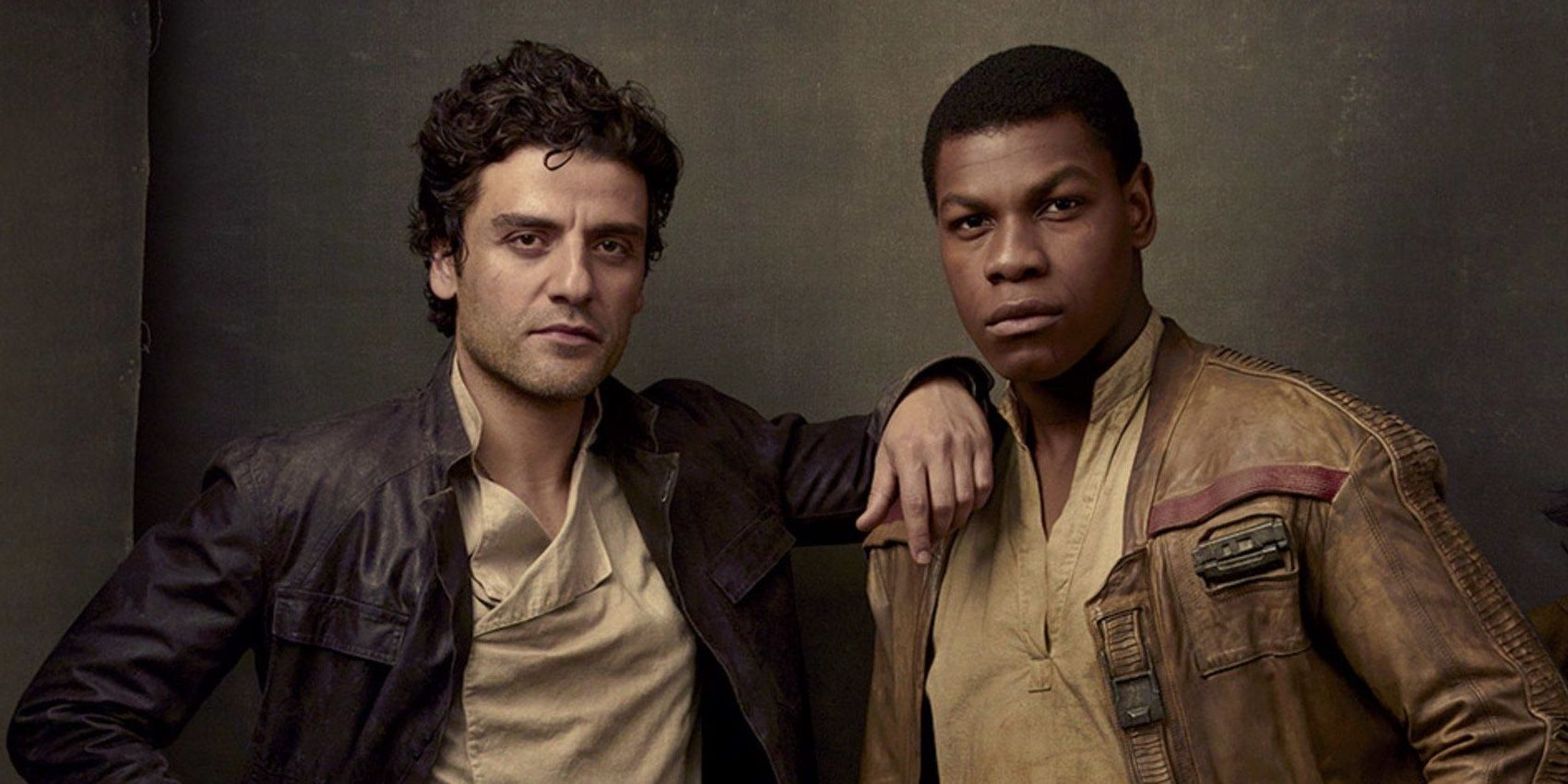 Star Wars 9's John Boyega Feeds Finn/Poe Shippers | Screen Rant