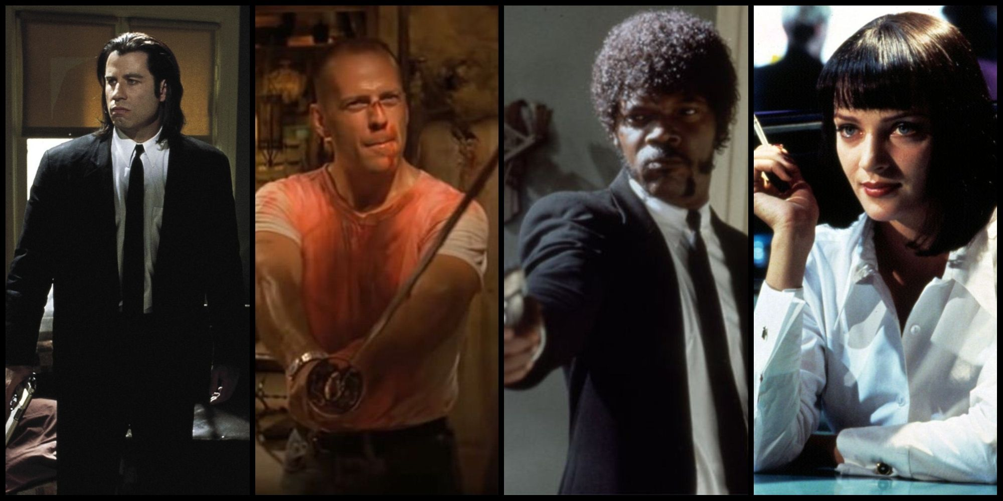 pulp fiction cast character guide screen rant