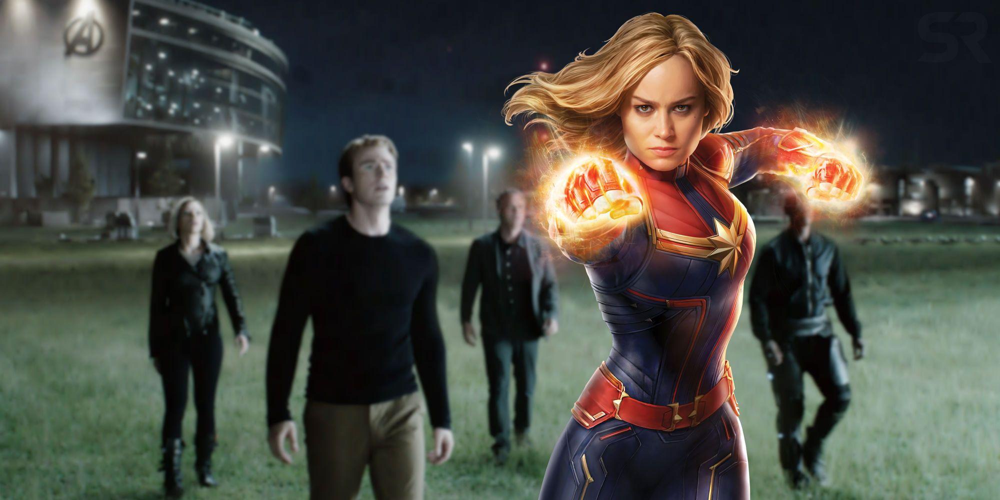 captain marvel's post-credit scenes make no sense after